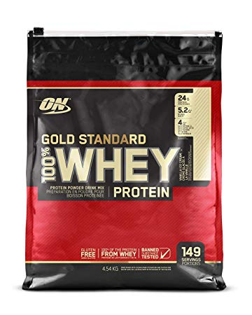100% Whey Gold Standard 10lb van. - ON