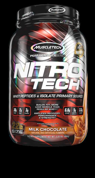 NITRO-TECH Performance 2.2lb vanilla - MuscleTech