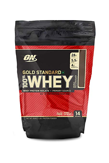100% WHEY GOLD STANDARD Bag 1LB Choco - ON