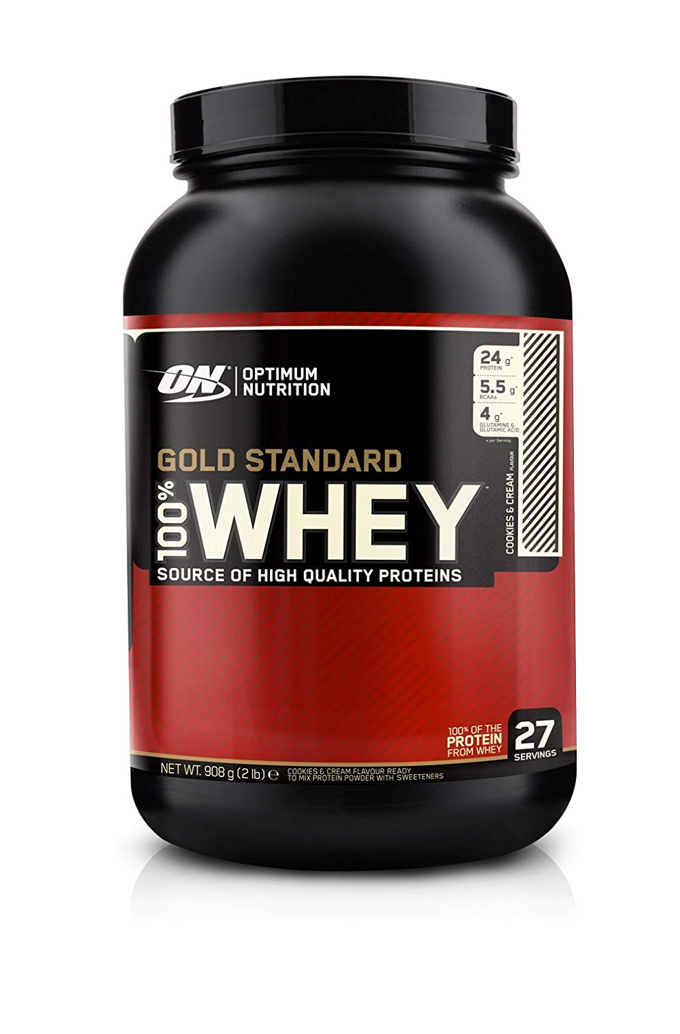 100% Whey Gold Standard 2lb cook. - ON