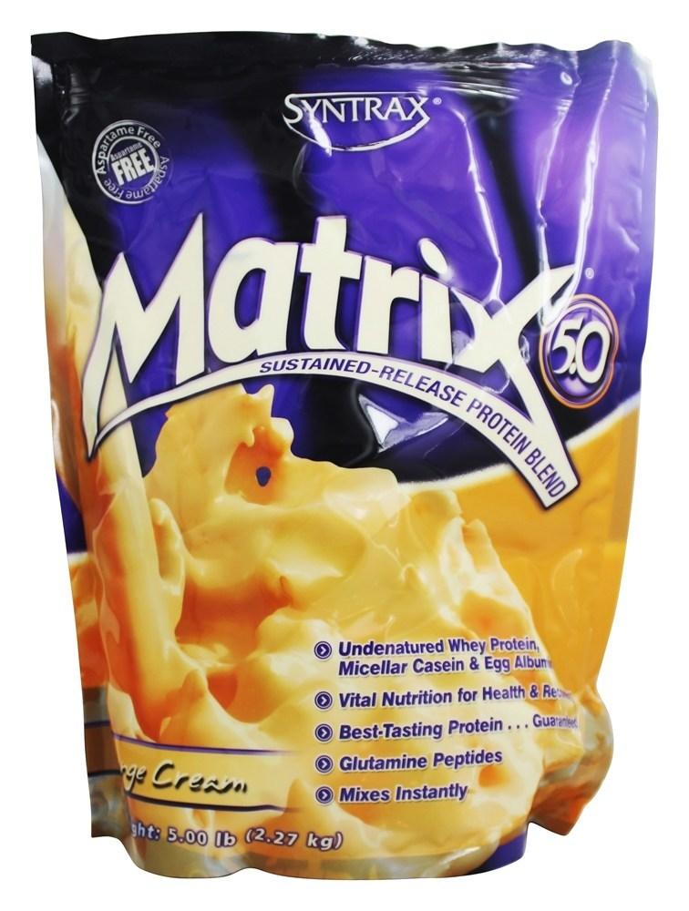 Matrix 5.0 Orange Cream- Syntrax