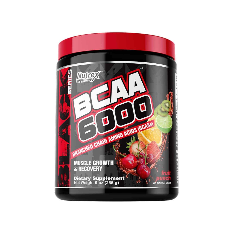BCAA 6000 30serv. fruit punch - NUTREX