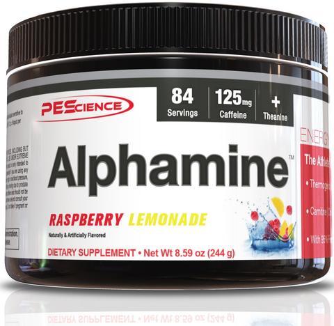 Alphamine (Raspberry Lemonade) - PEScience
