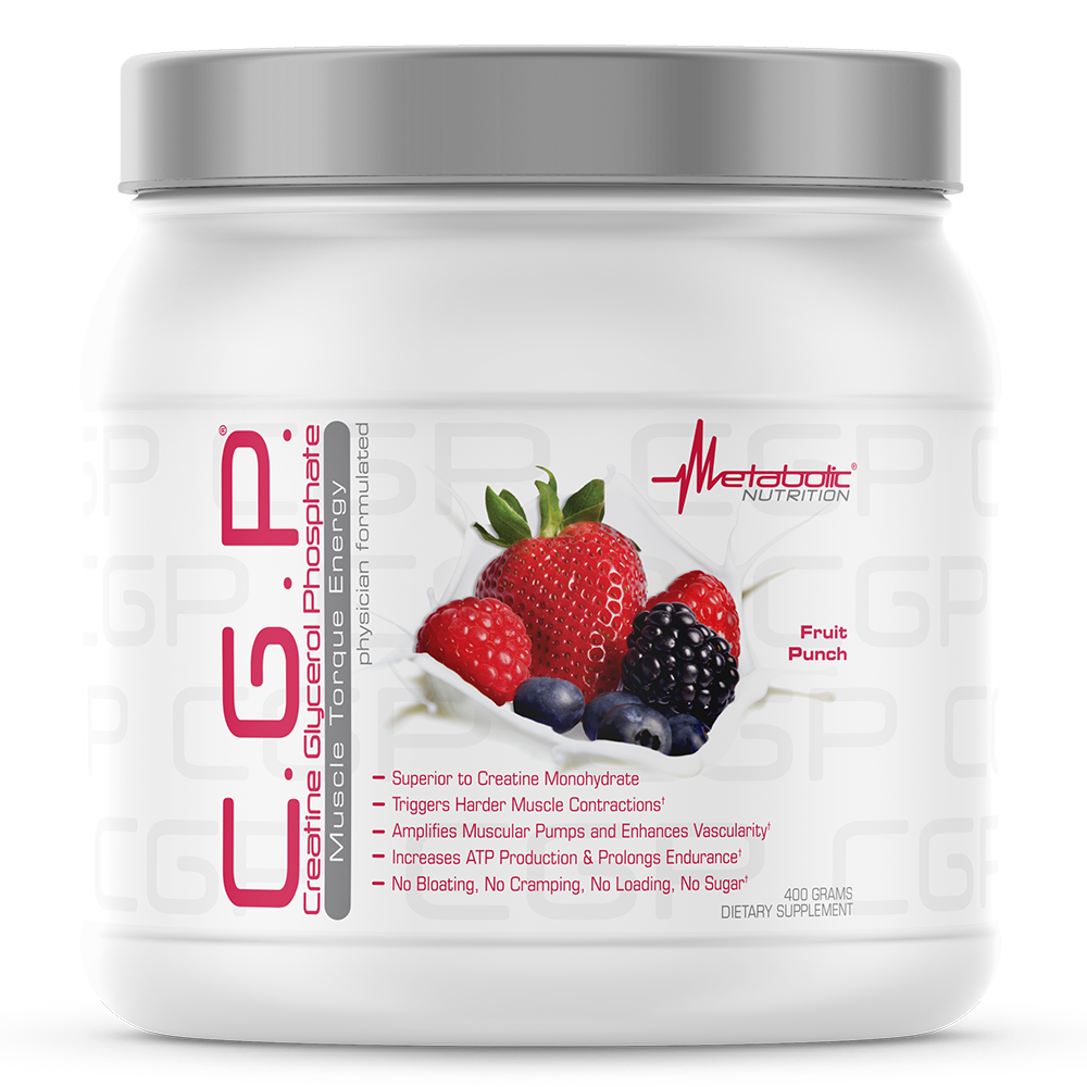 C.G.P. 400g fruit punch - Metabolic Nutrition