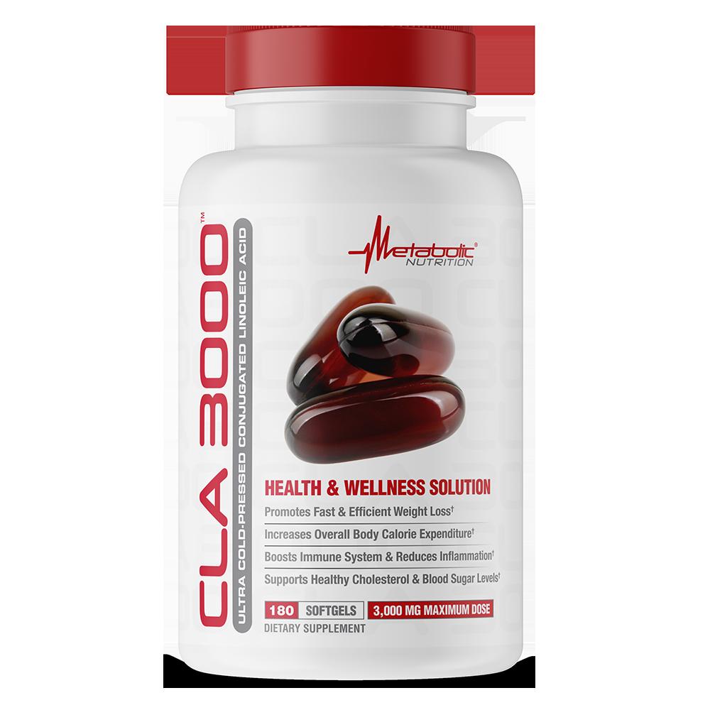 CLA 3000 180 softgels - Metabolic Nutrition