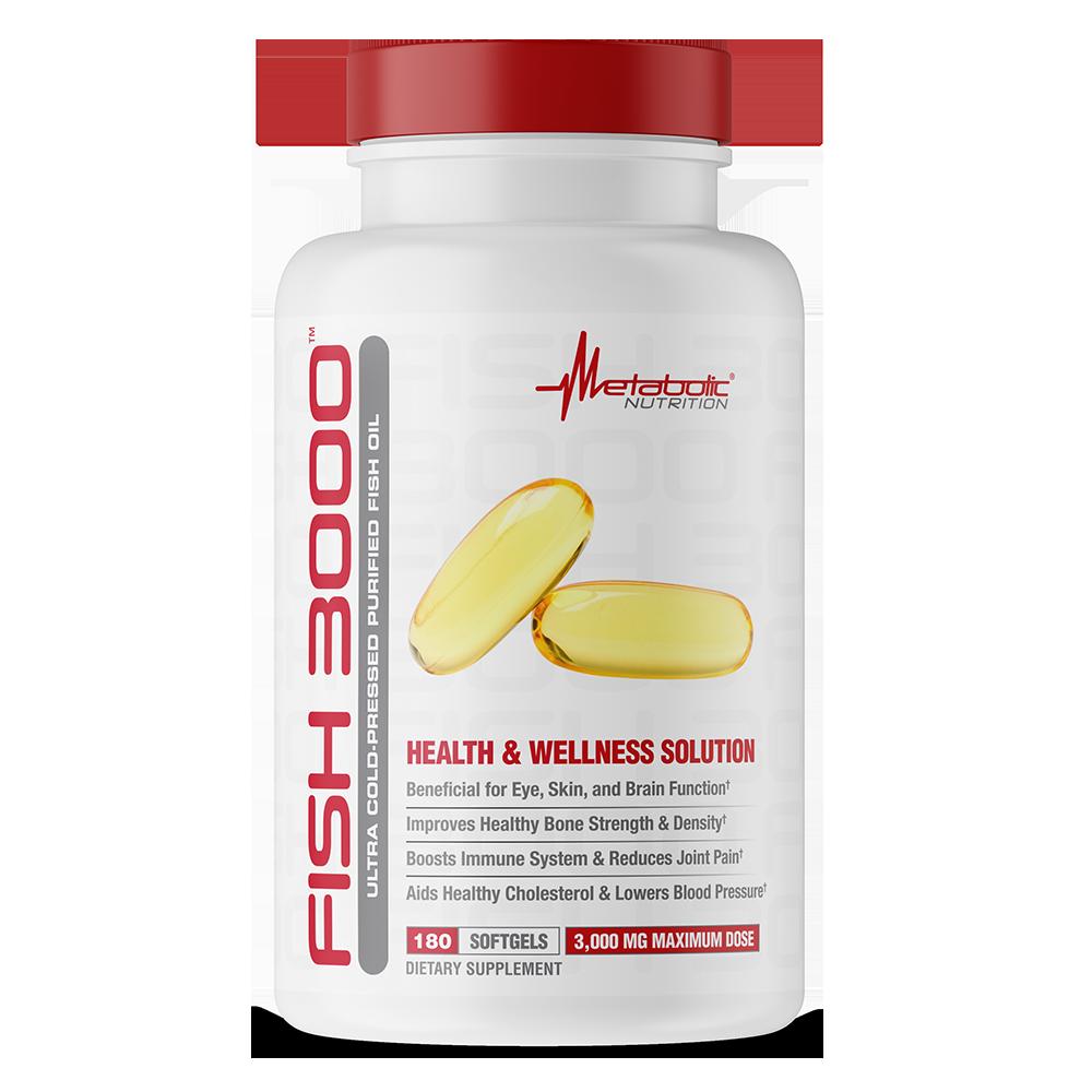 FISH 3000 180 softgels - Metabolic Nutrition