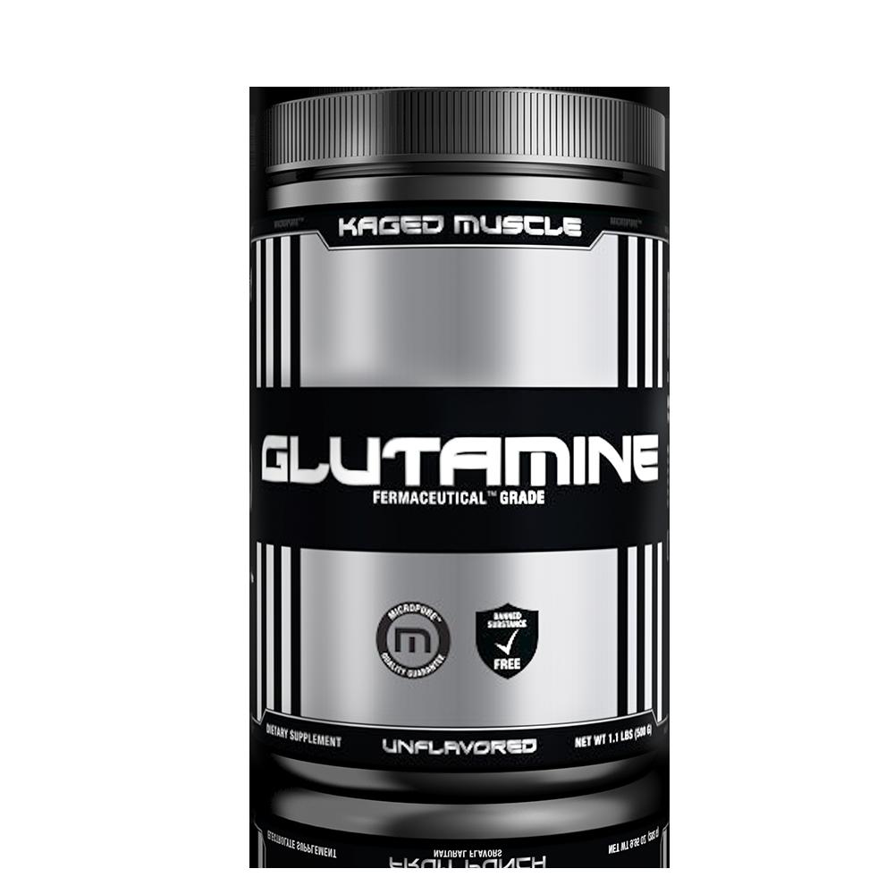 GLUTAMINE Powder 500g - Kaged Muscle