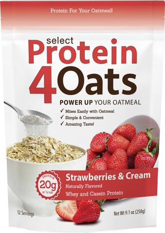 Select Protein4Oats (Strawberry) - PEScience