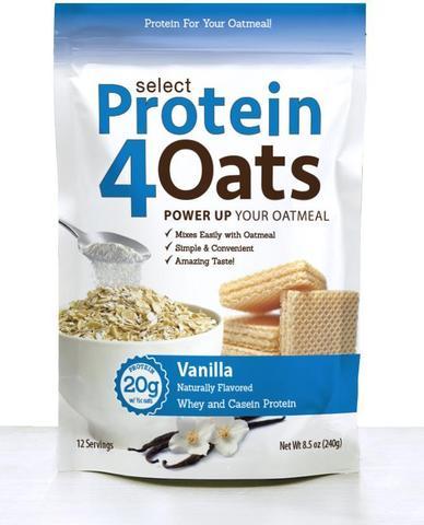 Select Protein4Oats (Vanilla) - PEScience