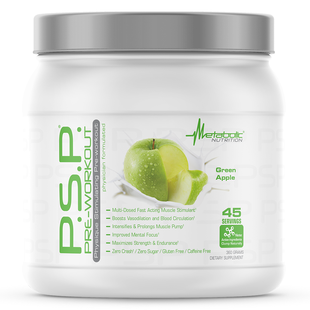 P.S.P. 360g green apple - Metabolic Nutrition