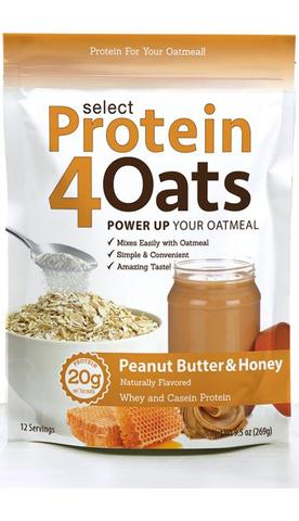 Select Protein4Oats (Peanut Butter) - PEScience