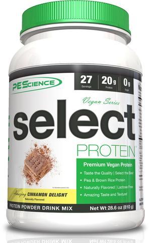 SELECT Vegan Protein 27serv. (Cinnamon) - PEScience