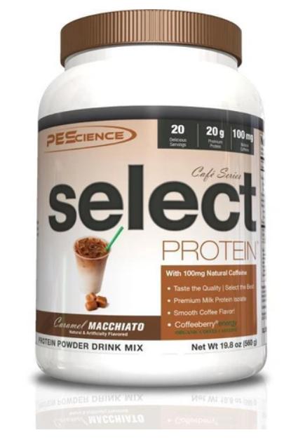 SELECT Protein Cafe (Caramel Macchiato) - PEScience