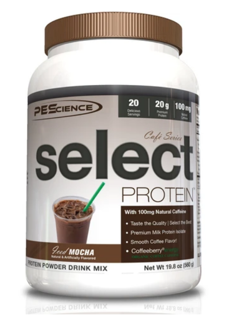 SELECT Protein Cafe (Iced Mocha) - PEScience