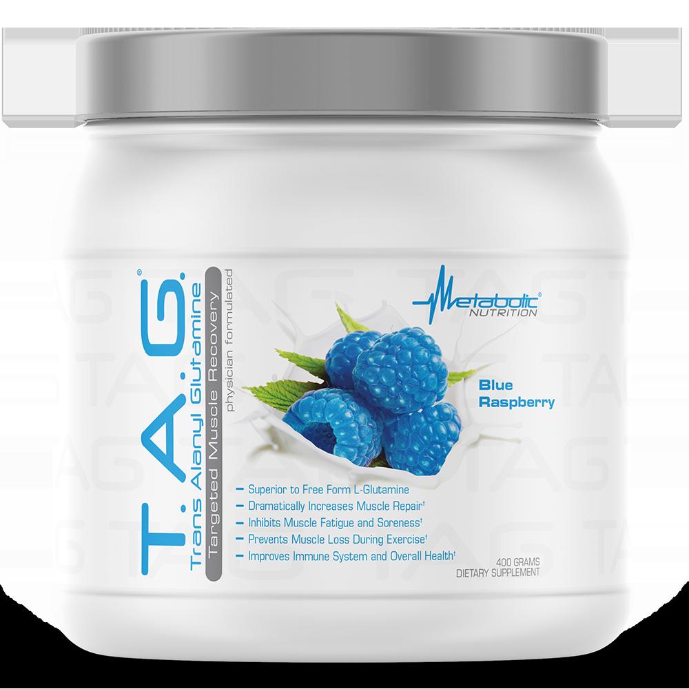 T.A.G. 400g blue rasp - Metabolic Nutrition