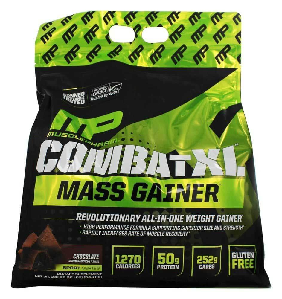 Combat XL MASS GAINER Choc. Peanut Butter 12lb - MP