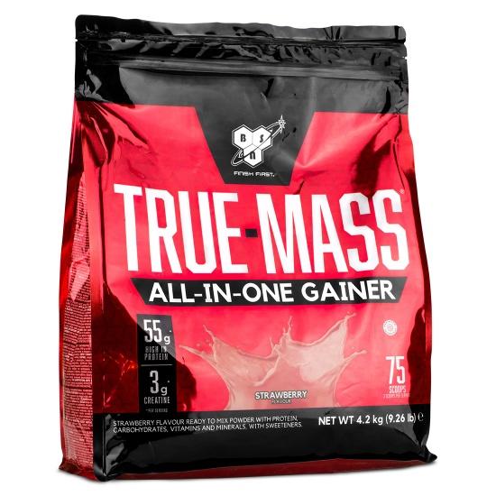 TRUE-MASS ALL-IN-ONE GAINER 4,2kg straw - BSN