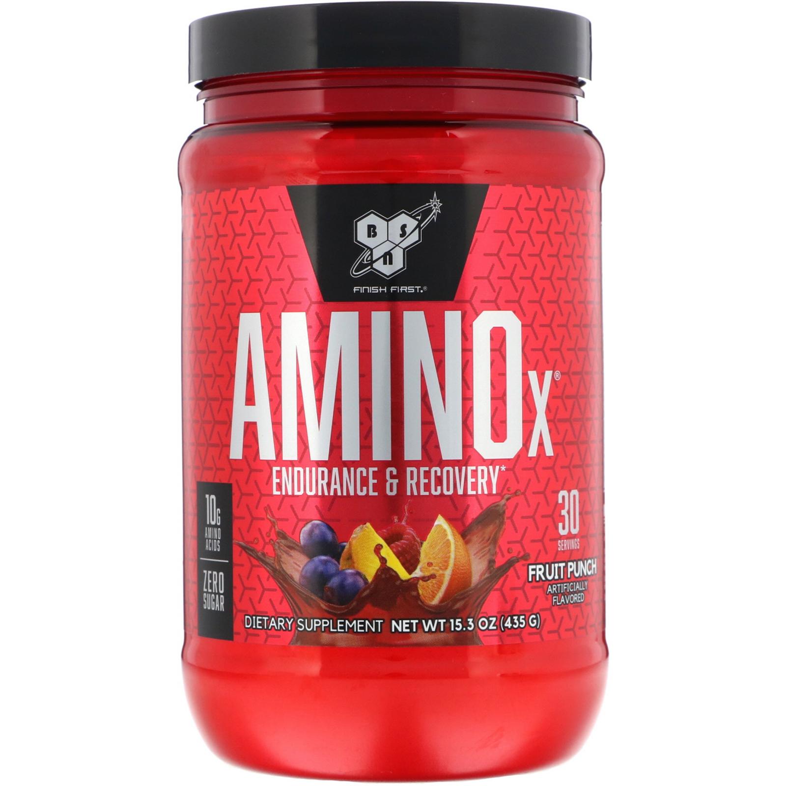 Amino X 435g (30 serv.) fruit p. - BSN