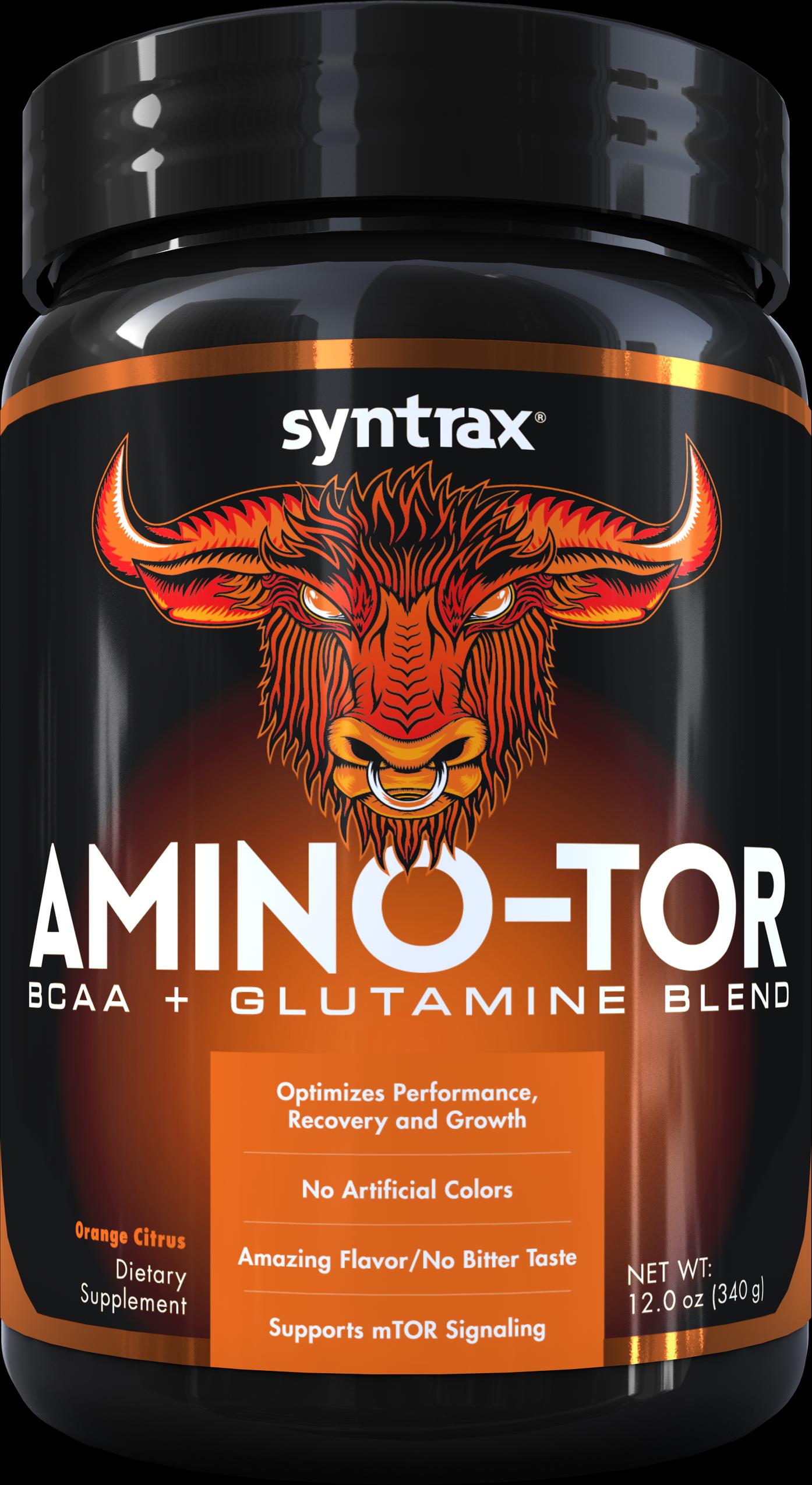 Syntrax Amino-tor - Orange Citrus340 g