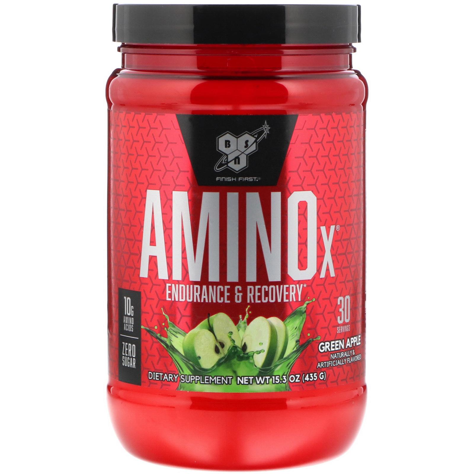 Amino X 435g (30 serv.) green apple - BSN