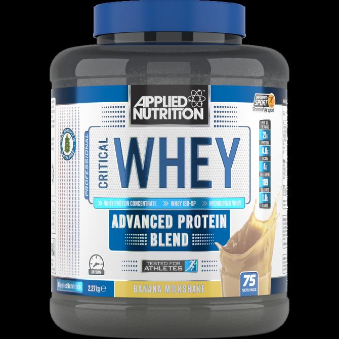 Critical Whey 2.27kg banana - Applied Nutrition