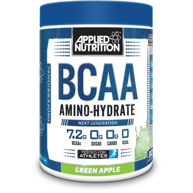 BCAA Amino Hydrate 450g green apple - Applied Nutrition