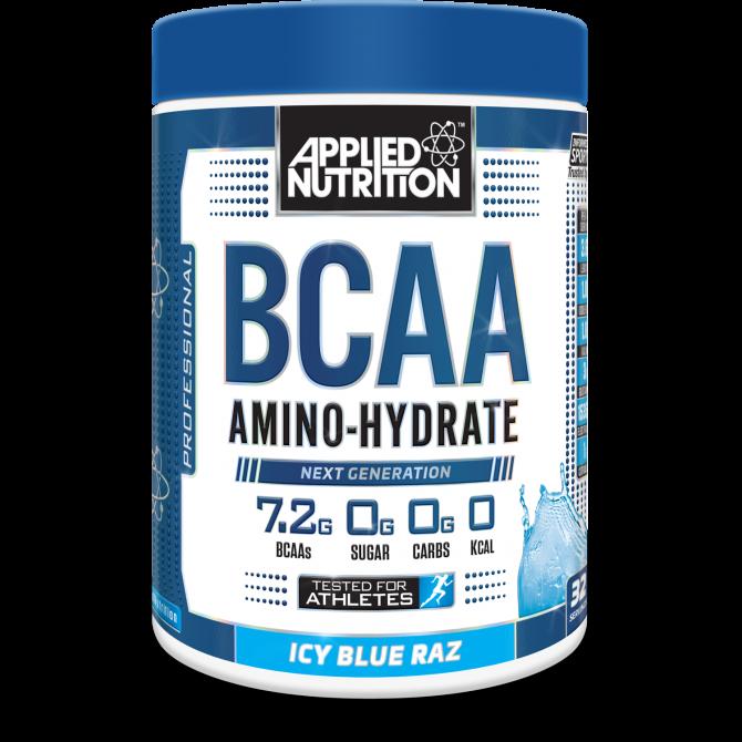 BCAA Amino Hydrate 450g icy blue raz - Applied Nutrition