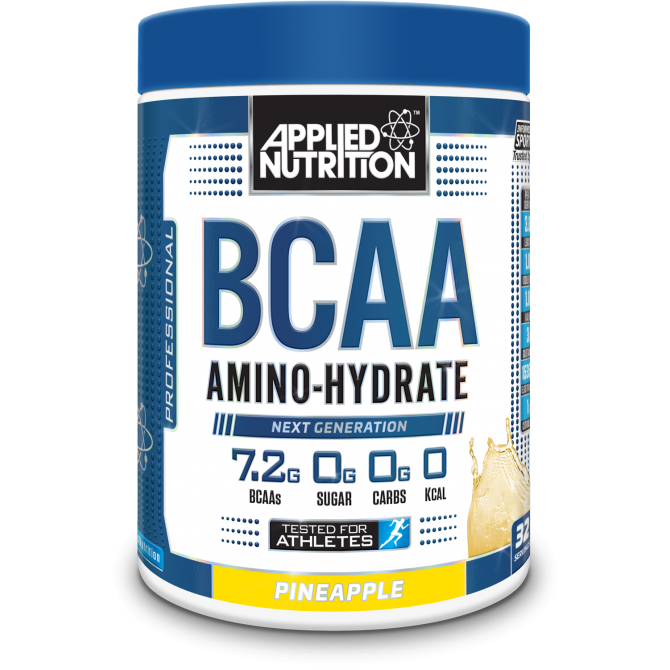 BCAA Amino Hydrate 450g pineapple - Applied Nutrition