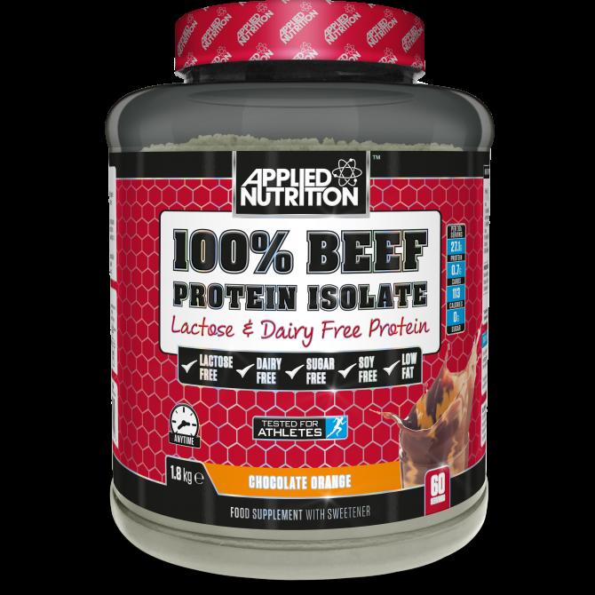 100% BEEF ISOLATE 1.8kg choco orange - Applied Nutrition