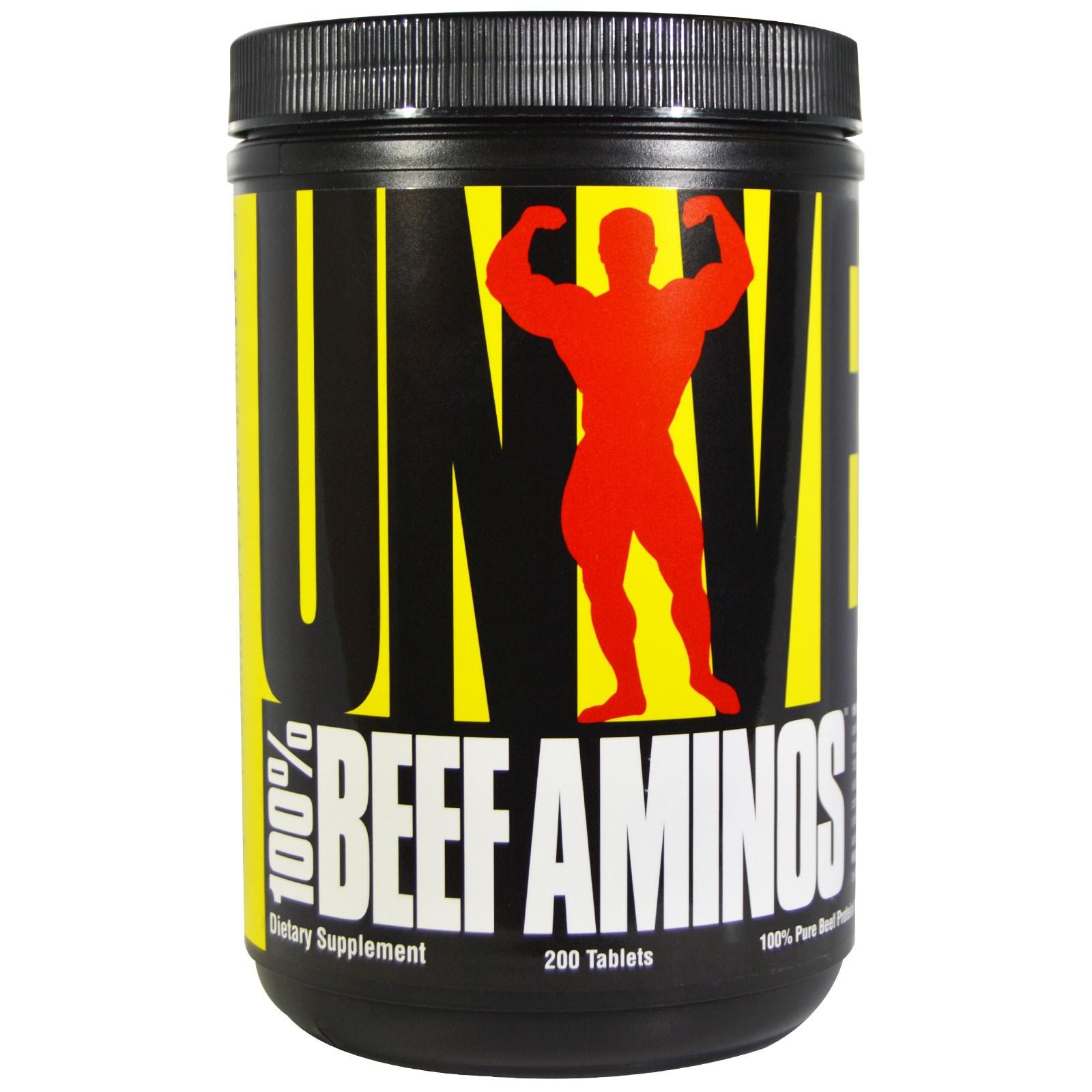 100% Beef Aminos 200tab. - Universal