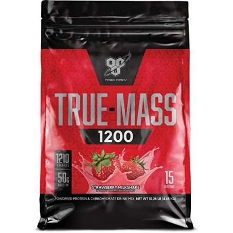 TRUE-MASS 1200 (10lbs) straw - BSN