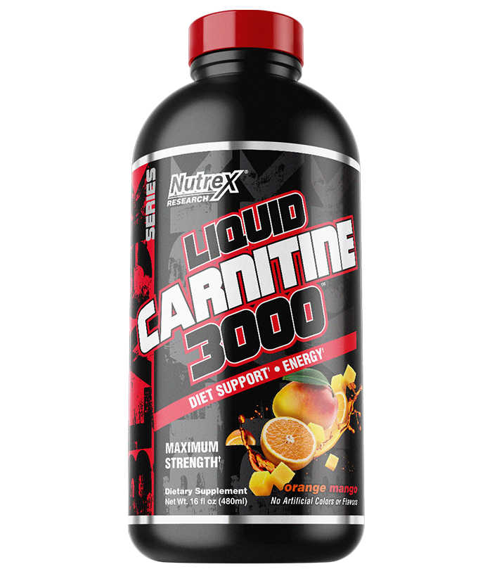LIQUID CARNITINE 3000 480ml orange mango - NUTREX