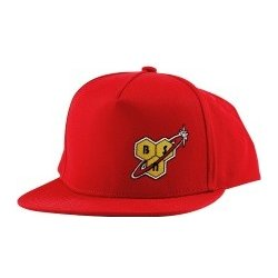 BSN FLAT BRIM CLOTH SNAPBACK BALL CAP