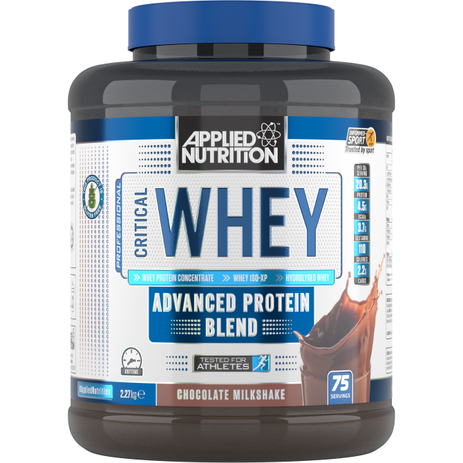 Critical Whey 2.27kg chocolate - Applied Nutrition