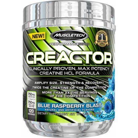 CREACTOR 120serv. blue raspberry - MT