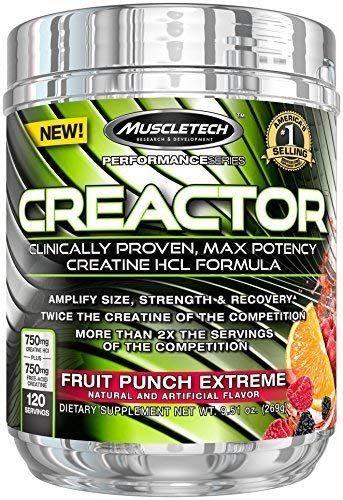 CREACTOR 120serv. fruit punch - MT