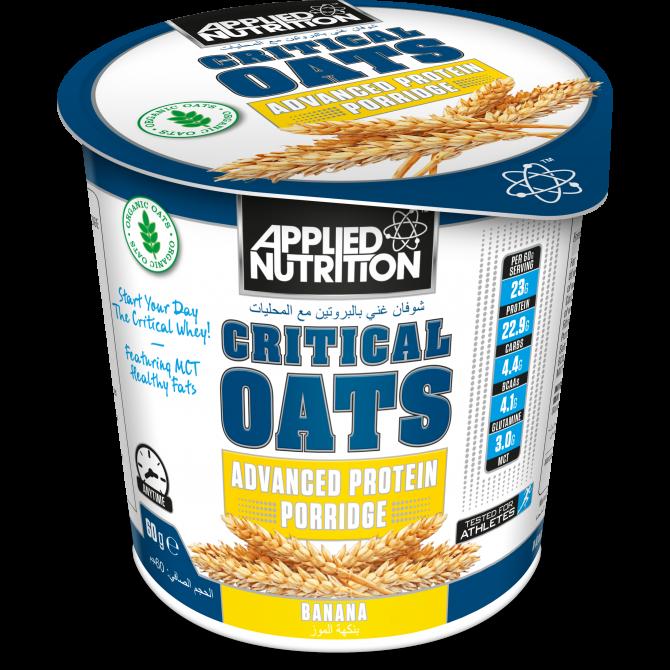 Critical Oats 60g banana - Applied Nutrition