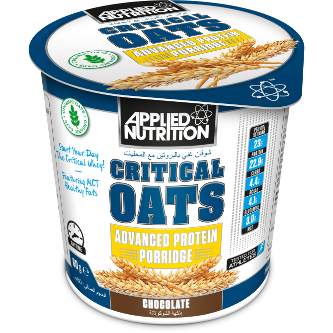 Critical Oats 60g chocolate - Applied Nutrition
