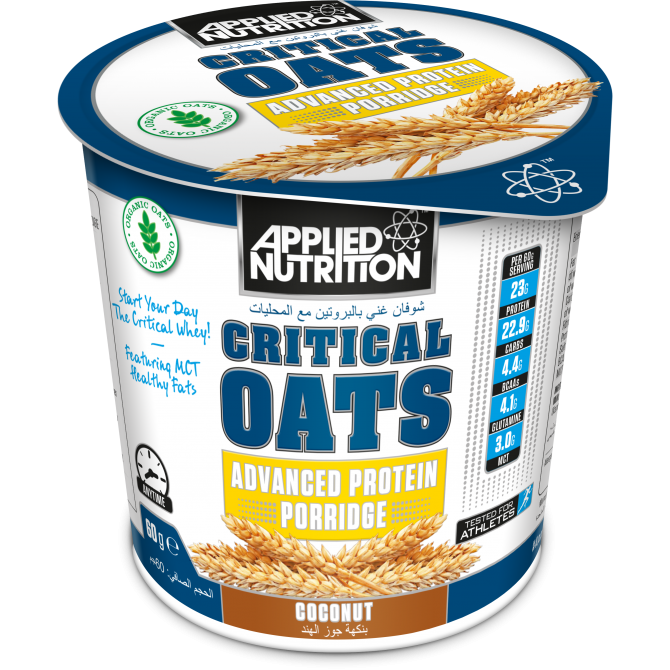 Critical Oats 60g coconut - Applied Nutrition
