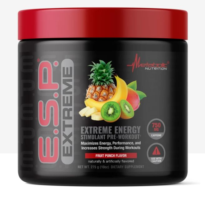E.S.P. EXTREME 275g fruit punch - Metabolic Nutrition