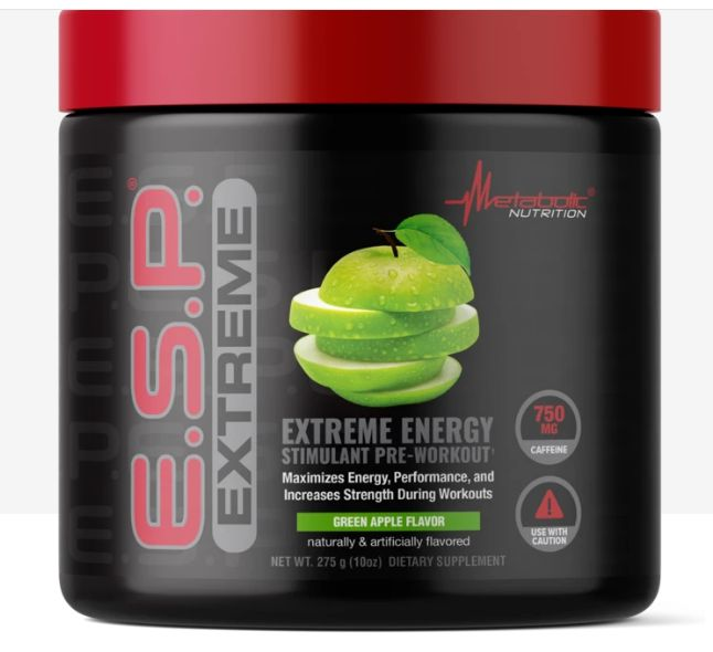 E.S.P. EXTREME 275g g. apple - Metabolic Nutrition