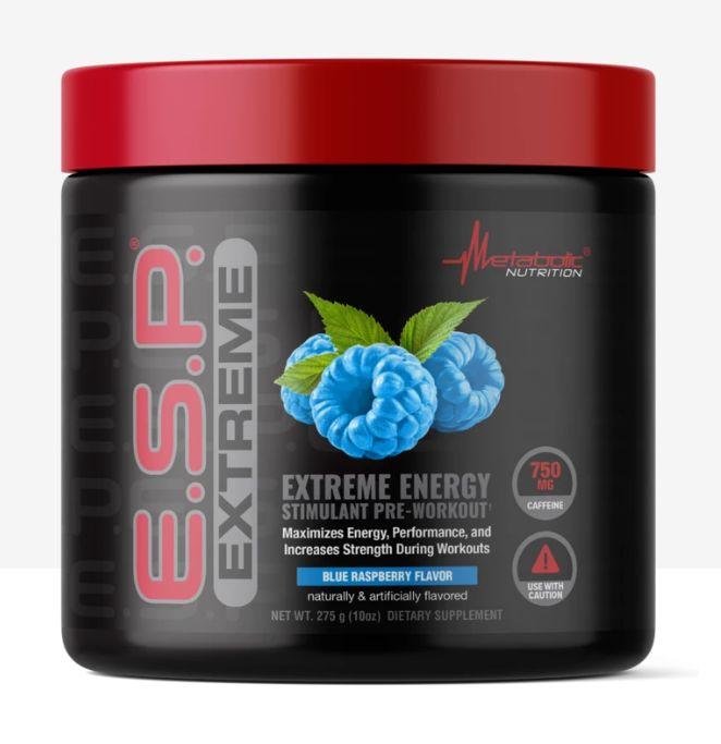 E.S.P. EXTREME 275g blue rasp - Metabolic Nutrition