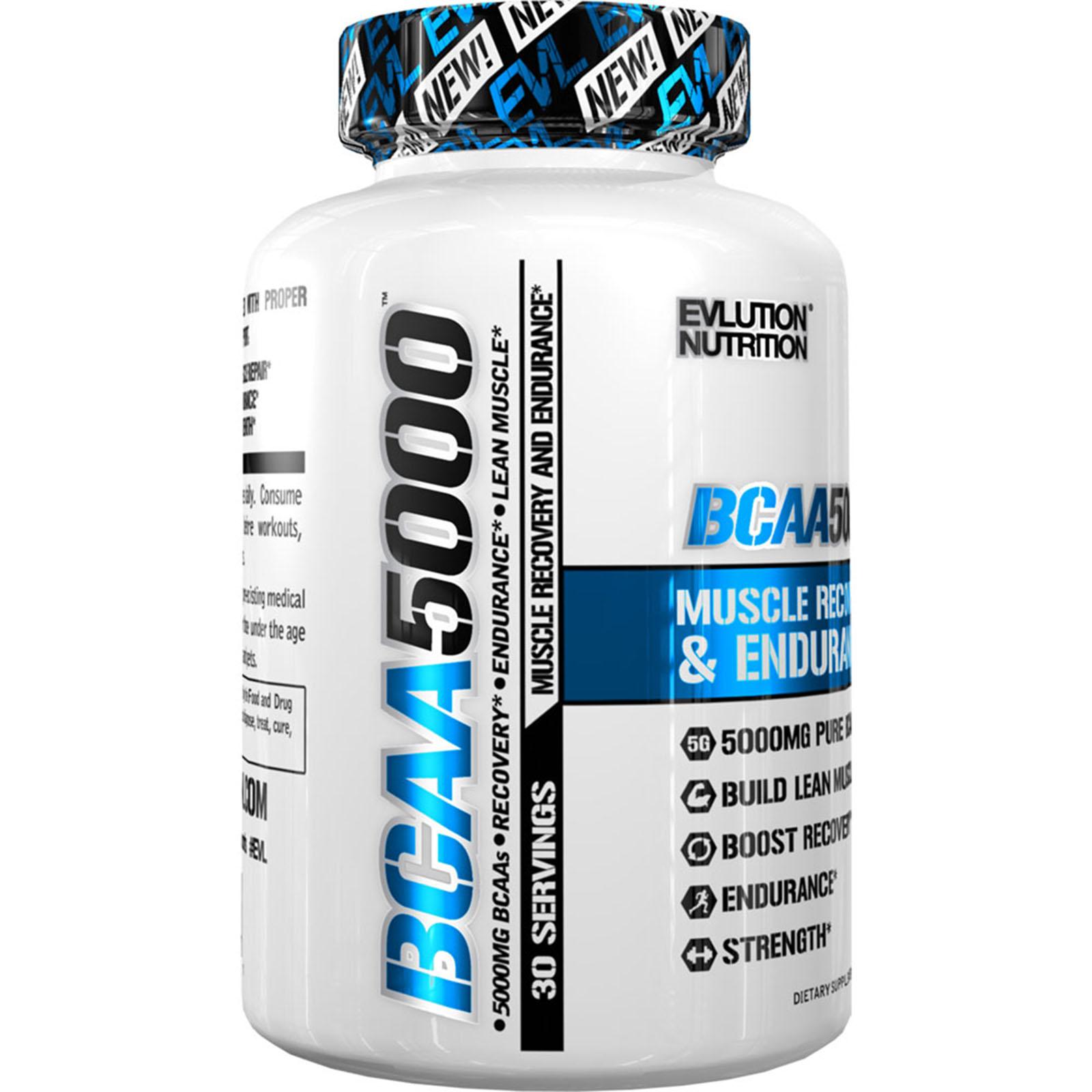 BCAA 5000 240caps. - EVL NUTRITION