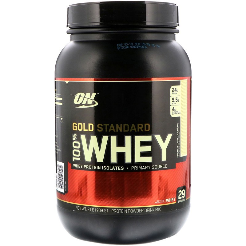 100% Whey Gold Standard 2lb fr.van. - ON