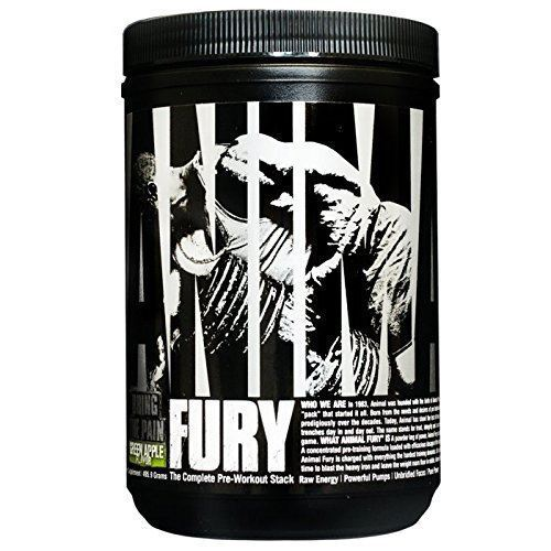 Animal Fury 20serv. green apple - Universal
