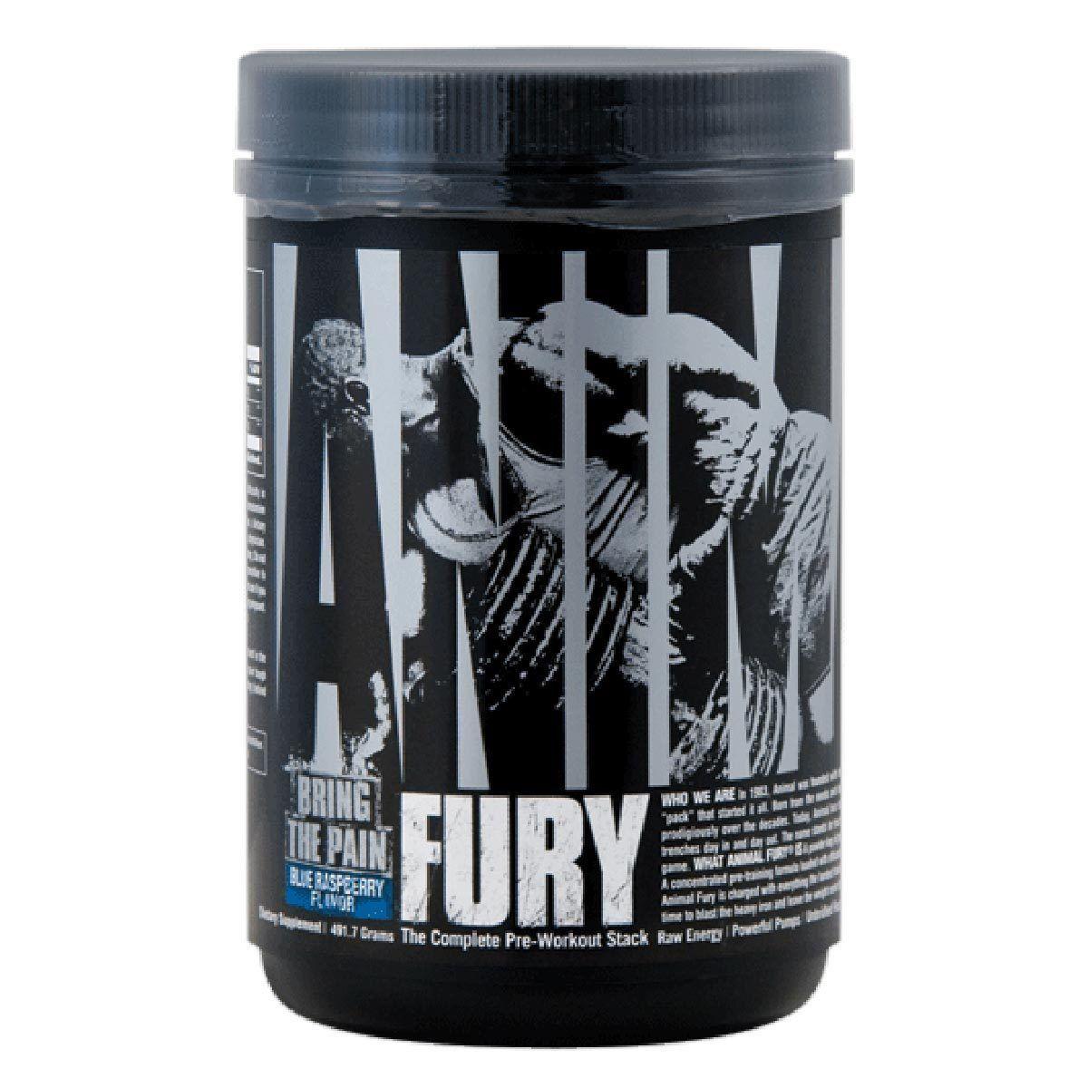 Animal Fury 20serv. blue rasp. - Universal