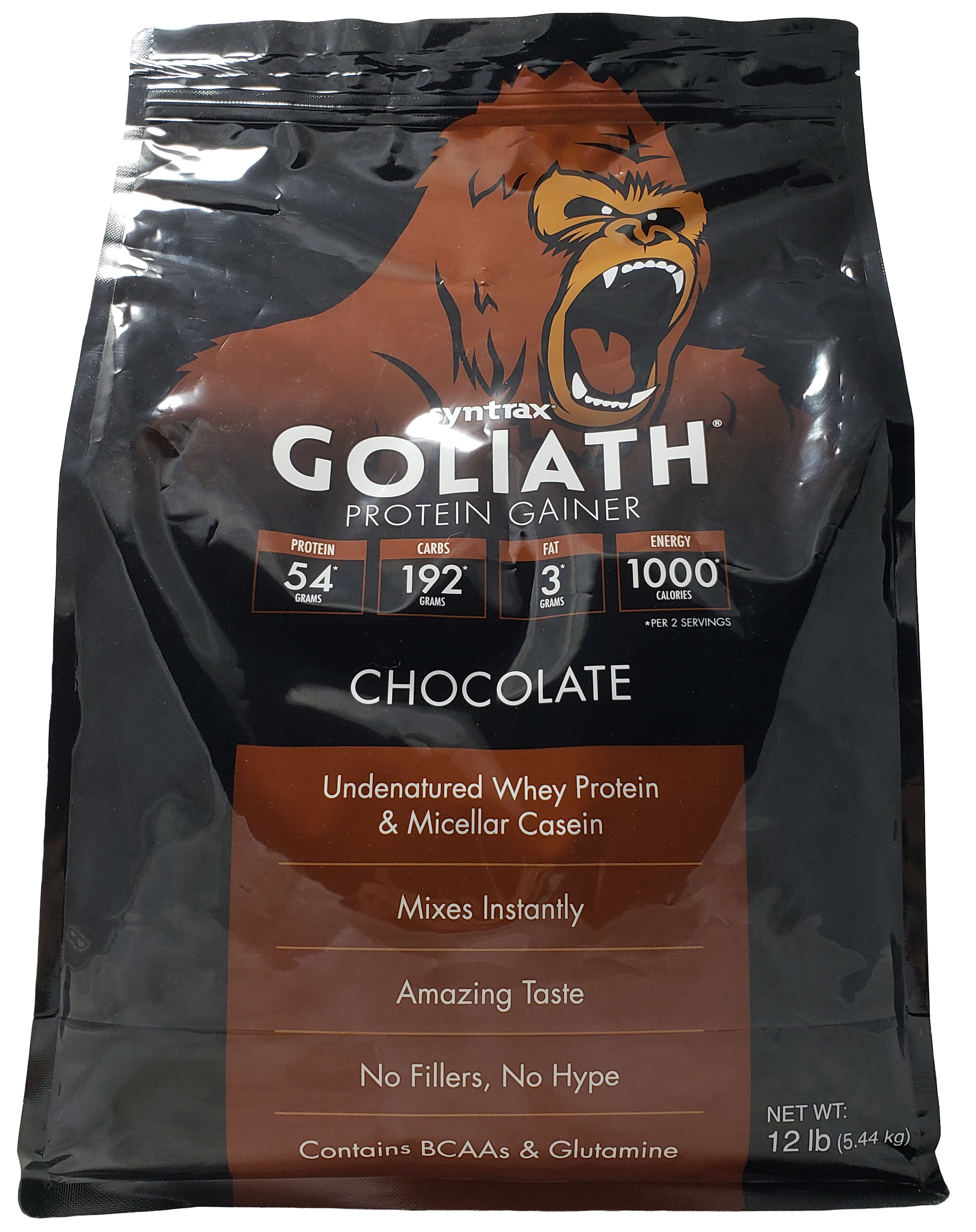 Syntrax Goliath - Chocolate 12 lb