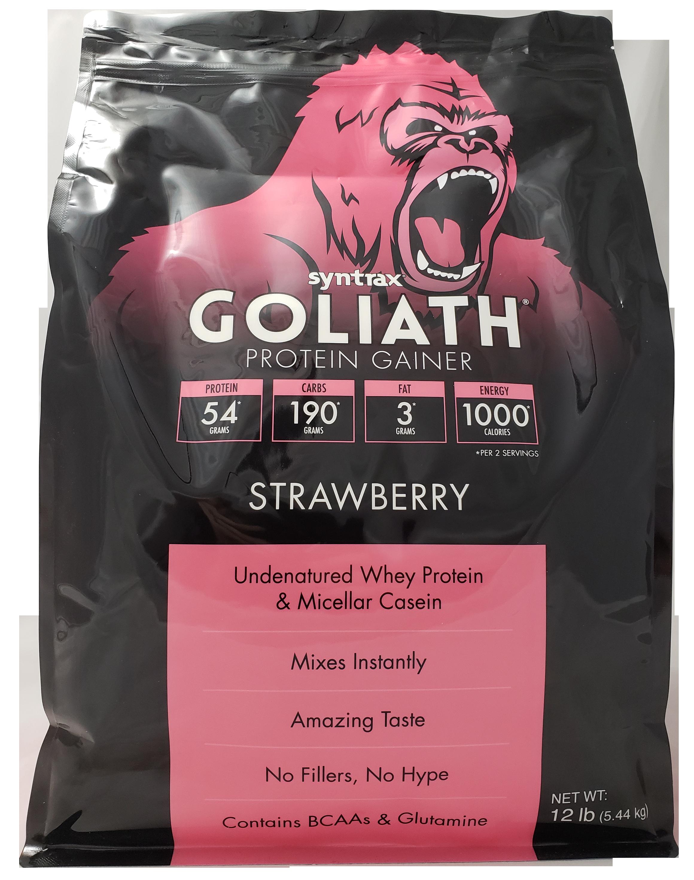 Syntrax Goliath - Strawberry 12 lb