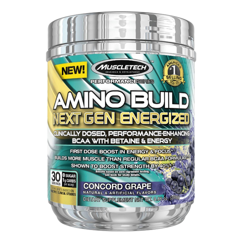 Amino Build Next Gen Energ. 30serv. grape - MT