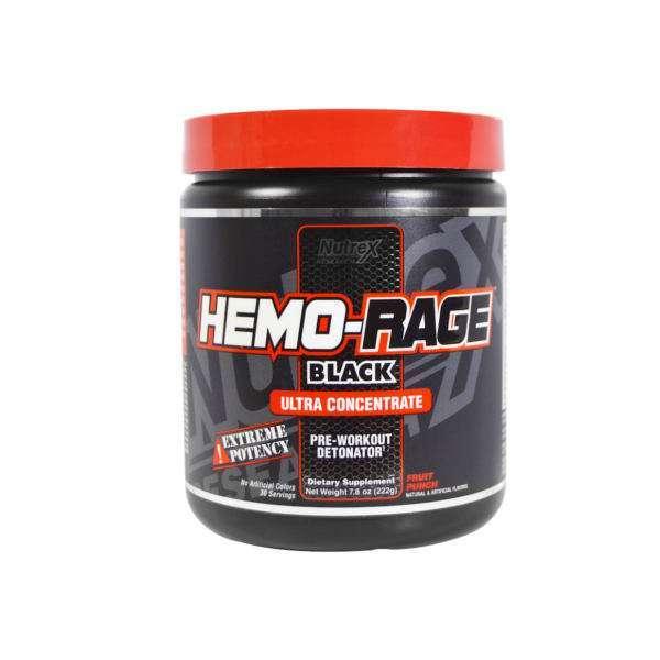 HEMO-RAGE Black UC 30serv. - NUTREX